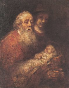 Rembrandt Simeon