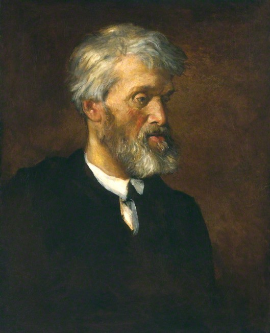 NPG 1002; Thomas Carlyle by George Frederic Watts