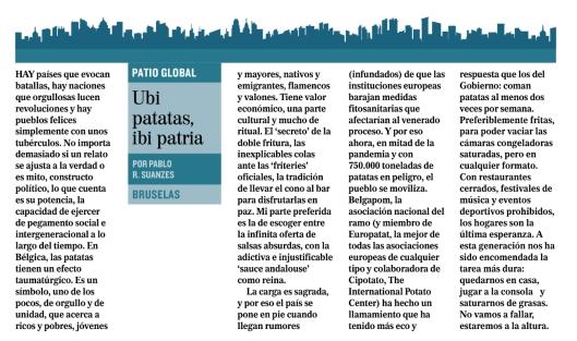 Ubi patatas ibi patria